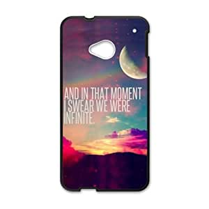 And In That Moment Bestselling Hot Seller High Quality Case Cove Hard Case For HTC M7
