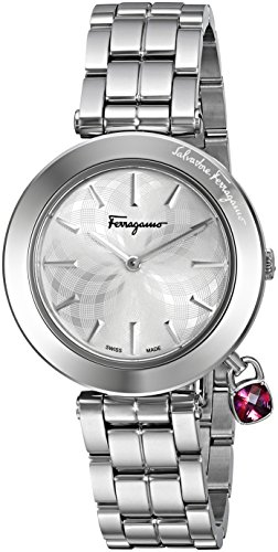 Salvatore-Ferragamo-Womens-FIC020015-Intreccio-Analog-Display-Quartz-Silver-Watch