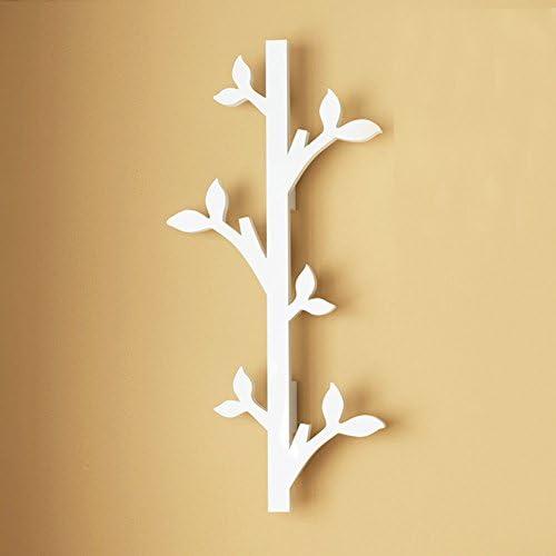 ZEMIN コートラック 壁 ハンガーラック コートラック 服 帽子 ハンガー 保有者 フック 木材 美しいスタイル、 白、 2つのスタイルが利用可能 (色 : A, サイズ さいず : 2 pieces)