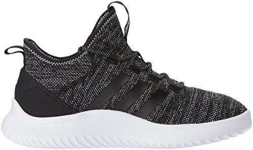 Adidas Menns Ultimate Bball Basketball Sko Svart / Svart / Hvit