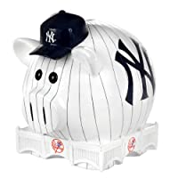MLB New York Yankees Resin Large Thematic Piggy Bank