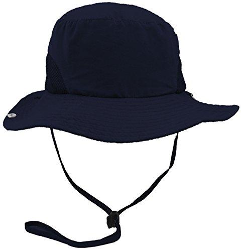 d337a4e85e94d Eqoba Men   Women s Outdoor SPF 50+ UV Protection Safari Sun Hat - Buy  Online in UAE.