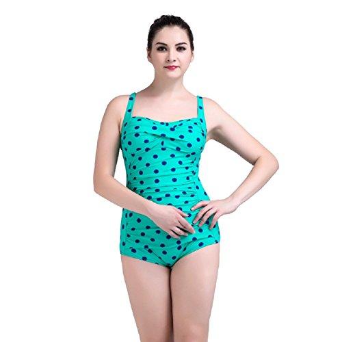 Traje de Baño mujer IHRKleid® Conjoined Printing Bikini Plus Size Adjustable Swimwear Style 7