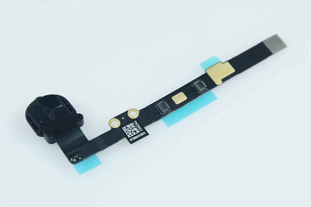 Headphone Jack Flex Cable for Apple iPad Mini - Black (A1432, A1454, A1455) by Group Vertical