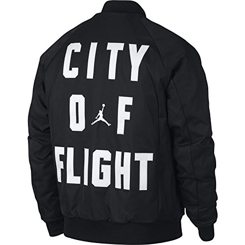 Nike Air Jordan Wings COF MA-1 Jacket City of Flight Black – L