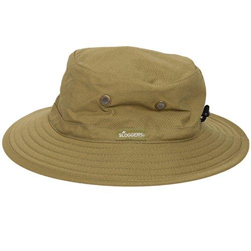 Sloggers Mens Classic Cotton Upf 50 Bucket Hat Cap
