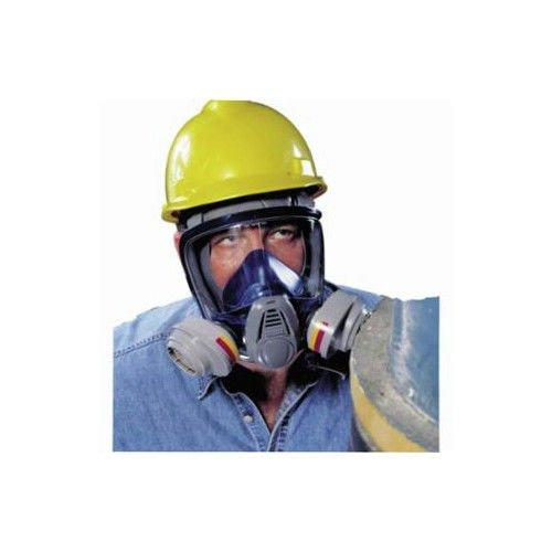 MSA Safety 10028995 Advantage 3200 Full-Facepiece Respirator with Rubber Harness, Medium
