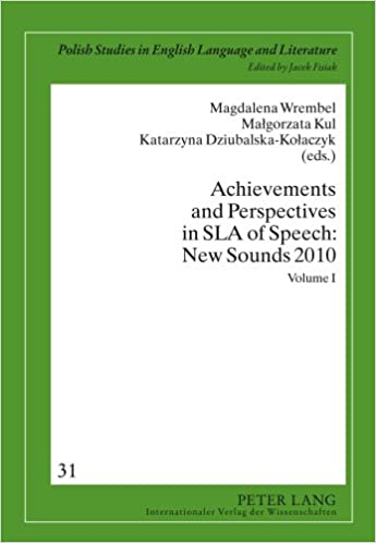 Text book download for cbse Achievements and Perspectives in SLA of Speech: New Sounds 2010: Volume I (Polish Studies in English Language and Literature) 3631607229 ePub