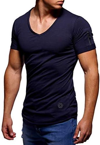 [해외]wodceeke Mens Casual Soild Summer T-Shirt Round Neck Side Zip Short Sleeve Tees Tops / wodceeke Mens Casual Soild Summer T-Shirt Round Neck Side Zip Short Sleeve Tees Tops
