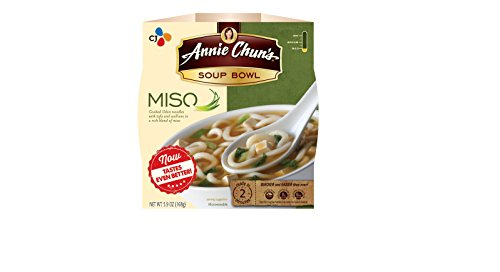 Annie Chun's Soup Bowl, Miso, 5.9 Ounce (Pack of 6)