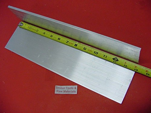 2 Pieces 1/8″ X 3″ ALUMINUM 6061 FLAT BAR 14″ long T6511 New Mill Stock .125″x 3