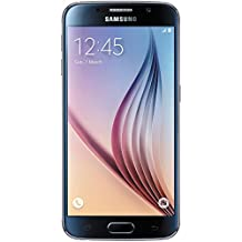 Samsung Galaxy S6 Factory Unlocked 32GB Smartphone- Black (Certified Refurbished)