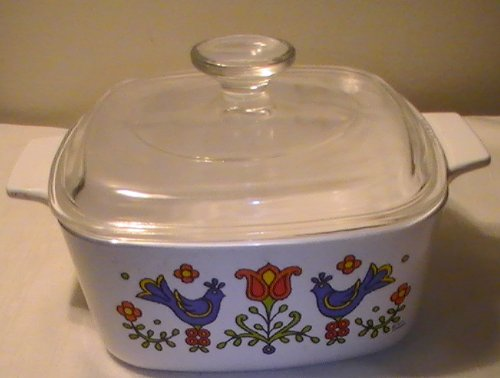 Corelle With Lid Casserole - Corning Corelle Country Festival 2 Qt. Casserole with Lid