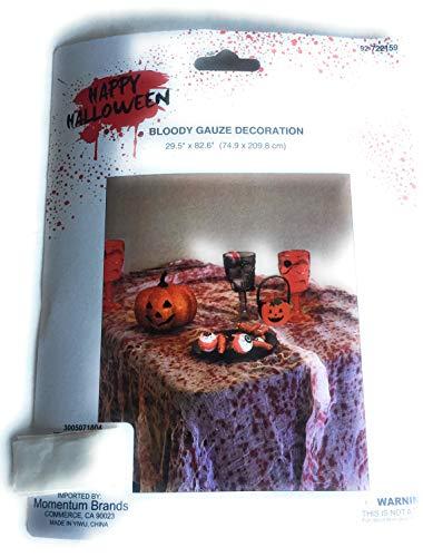 Happy Halloween Bloody Gauze Decoration 29.5