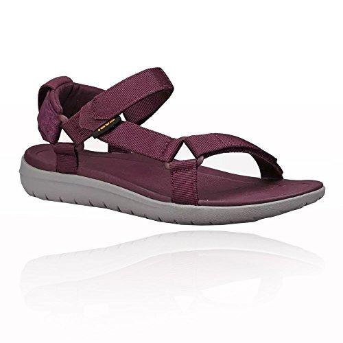 braun Universal Teva Sanborn Damen Purple Sandalen W COOTXq