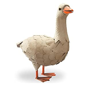 National Tree Company 16 in. Goose Garden Statue 21