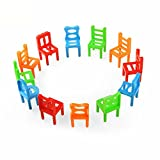 Sunny&Love 2018 Balance Chairs Board Game Children Educational Balance Toy (Multicolor)