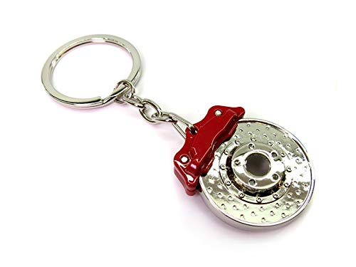 Autopro Brake Disc Caliper Red Keyring Keyfob Engine Novelty Piston Supercharger Brembo:
