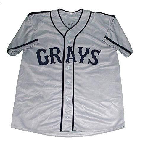 QimeiJer Custom Movie Jerseys Josh Gibson Men's Baseball Jersey ()