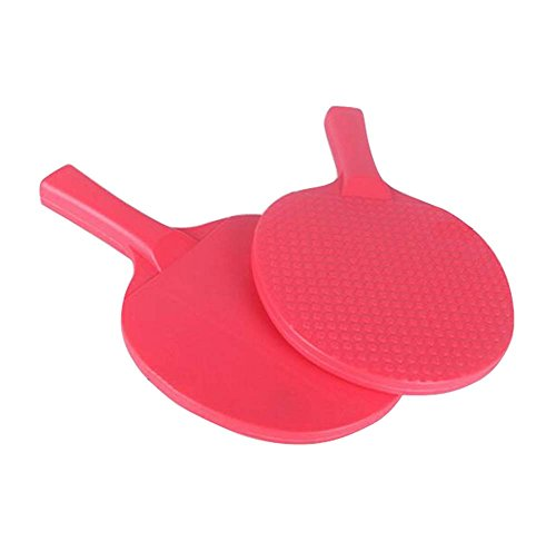 Children Table Tennis Racket Leisure Sports Toy Set-Red by DRAGON SONIC