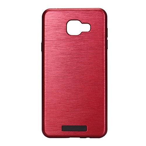 Ultra Slim Metal Case for Samsung Galaxy A7 (Red) - 7