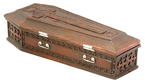 Vampire Coffin Box Collectible Figurine