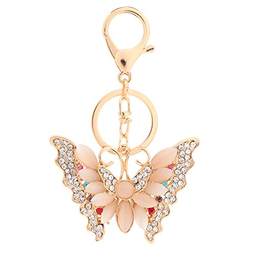 Anself Crystal Rhinestone Butterfly Pendant product image