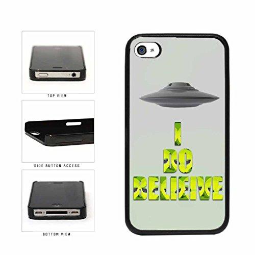 BleuReign(TM) Super Natural I Believe In Aliens Plastic Phone Case Back Cover Apple iPhone 4 4s (Supernatural Galaxy Cases 4s)