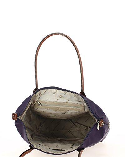 Sac Sac Hexagona Shopping Violet Shopping XqY5wOq