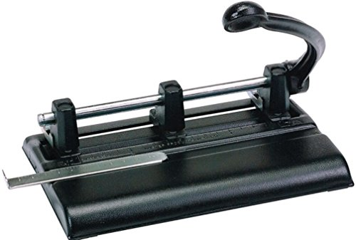 Martin Yale 1340PB Master 3-Hole Punches with Power Handle, 13/32