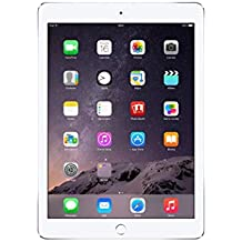 Apple iPad Air 2 MGKM2LL/A (64GB, Wi-Fi, Silver) NEWEST VERSION (Renewed)