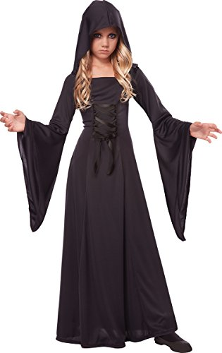 California Costumes Hooded Robe Costume, One Color, 6-8