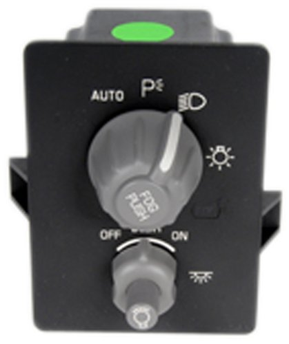 ACDelco D1538G GM Original Equipment Very Dark Gray Headlight, Instrument Panel Dimmer, and Accessory Switch by ACDelco (Image #2)