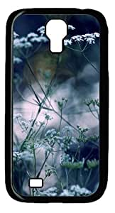 Cool Painting Samsung Galaxy I9500 Case,Summer flowers bokeh Polycarbonate Hard Case Back Cover for Samsung Galaxy S4/I9500