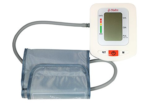 Dr-Madre-Blood-Pressure-Monitor-With-Adjustable-Cuff-9-16-inch-Upper-Arms-Accurate-Simple-Automatic-One-Touch-Talking-with-Time-Date-Stamp-and-90-Memory-Recall