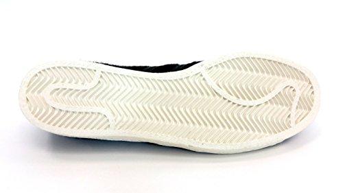 Adidas Mens Superstar 80s Punta In Metallo Scarpe B26314 Nucleo Nero Us 9.5