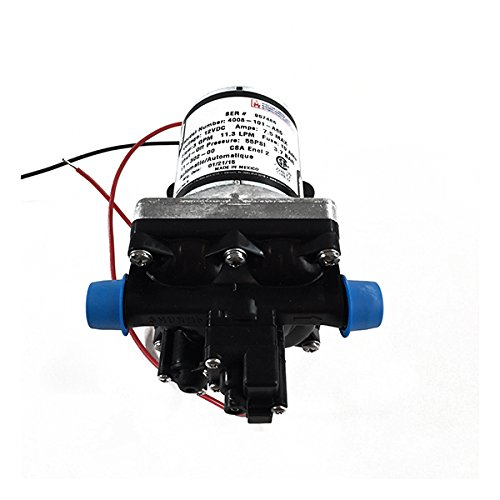 SHURFLO 4008-101-A65 New 3.0 GPM RV Water Pump Revolution, 12V (Shurflo Water Rv Pumps)