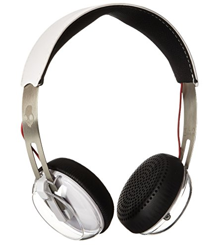 Skullcandy Grind On-Ear Headphones with Built-In Mic and Remote, White