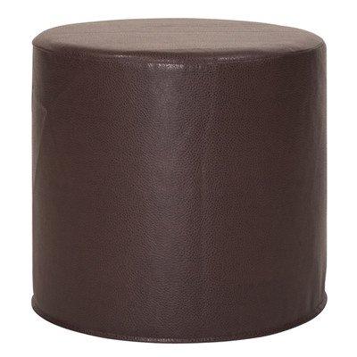 Howard Elliott 851-192 No Tip Cylinder Ottoman, 18 x 17-Inch, Avanti Pecan