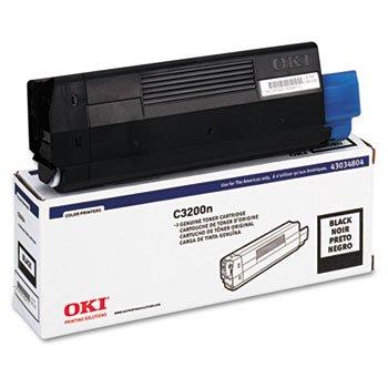 (43034804 Toner (Type C6), 1500 Page-Yield, Black by OKIDATA (Catalog Category: Computer/Supplies & Data Storage / Printer)