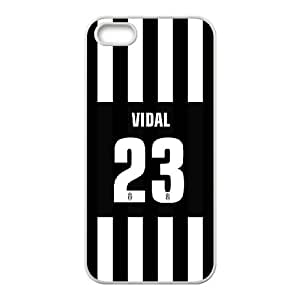 Well Design iPhone 6,6S phone case - design with Arturo Vidal pattern