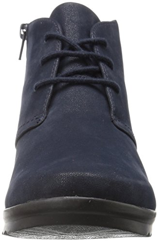 Clarks Navy Hop Cloudstepper Caddell Women's Boot Ankle qr6HqzSw