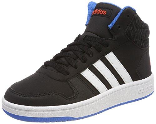 0 adidas Fitnessschuhe Hoops Unisex Azubri Kinder 2 Mid Ftwbla Negbás 000 Schwarz HrxXCTrq