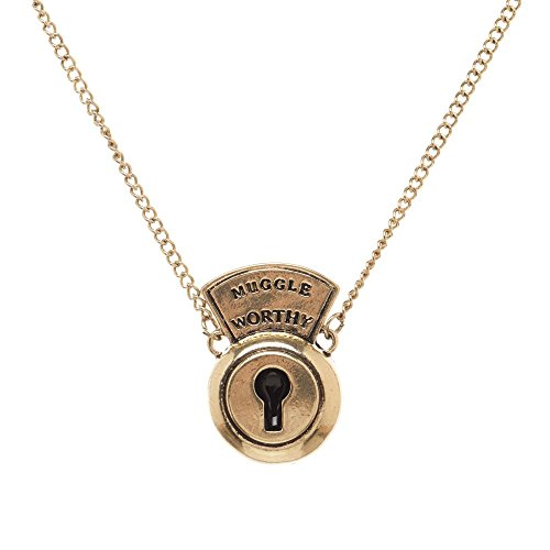 Fantastic Beasts Muggle Worthy Lock Necklace