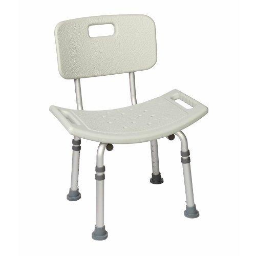 Bath Lightweight with Non-slip Seat White