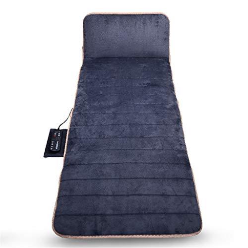 - Whryspa Massage Mat, Heating Pad,Vibration Motors and Rolling Massage Mattress Pad for Body Rest,Gray