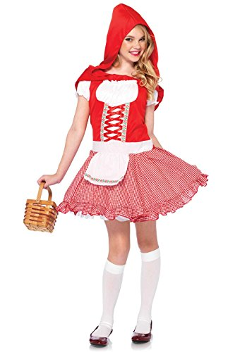 Leg Avenue Children's Lil Miss Red Riding Hood Costume (Lil Miss Dress Up compare prices)