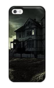 Fashionable YKKlBSg12534ErzGm Iphone 5/5s Case Cover For Haunted House Protective Case