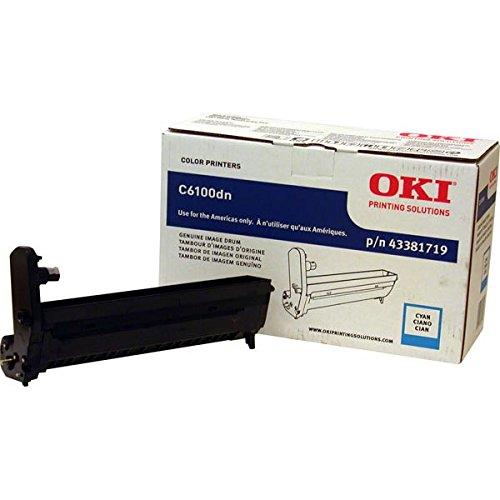Oki C5550 Mfp/C6100/C6150/Mc560 Mfp Series Cyan Image Drum 20000 Yield