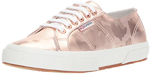 Superga Women 2750 Army Chromw Sneaker Rose Gold